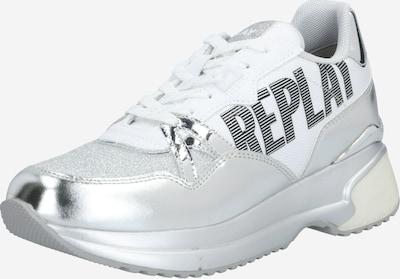 REPLAY Sneaker 'Ingels' in silber / weiß, Produktansicht