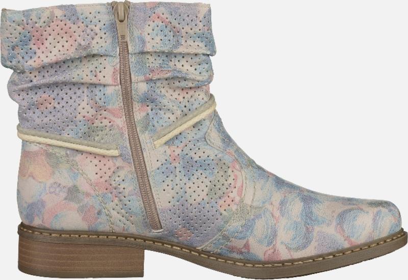 RIEKER Boots mit floralem Print