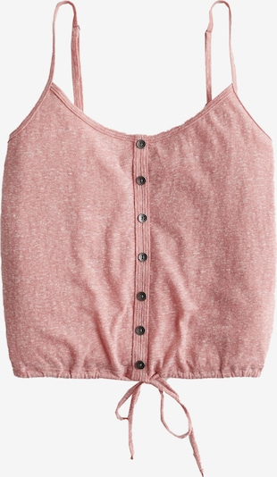 HOLLISTER Top 'DTC BARE BUTTON THRU/TIE CAMI' in rosé, Produktansicht