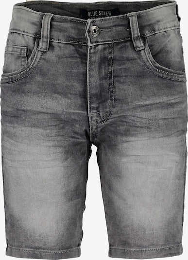 BLUE SEVEN Shorts aus Sweatdenim in grau, Produktansicht