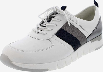 WALDLÄUFER Sneaker in taupe / silbergrau / schwarz / weiß, Produktansicht
