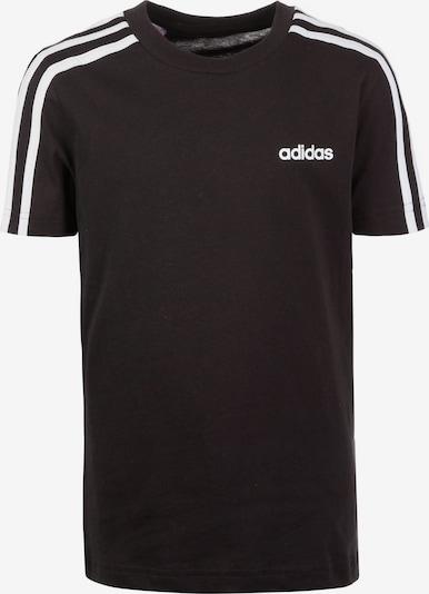 ADIDAS PERFORMANCE Functioneel shirt 'Essential' in de kleur Zwart / Wit, Productweergave