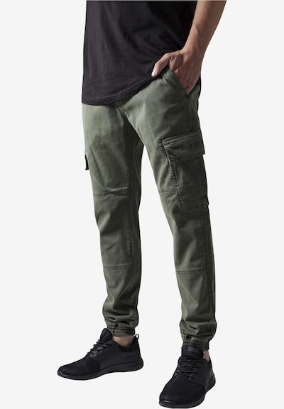 Pantaloni cu buzunare Urban Classics pe verde iarbă, Vizualizare model