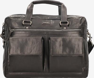 Spikes & Sparrow Aktentasche in schwarz, Produktansicht