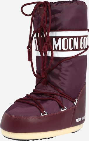 MOON BOOT Snowboots in Rot