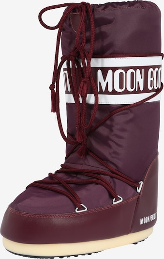 MOON BOOT Winterstiefel 'Moon Boot Nylon' in bordeaux, Produktansicht
