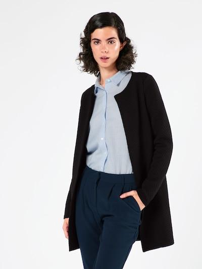 Geacă tricotată 'Vinaja' VILA pe negru, Vizualizare model
