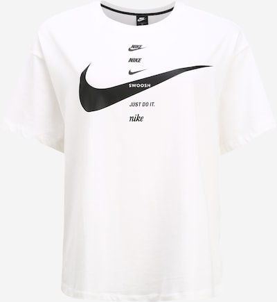 fekete / fehér Nike Sportswear Póló, Termék nézet