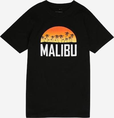 Mister Tee Top 'Malibu Tee' in schwarz, Produktansicht