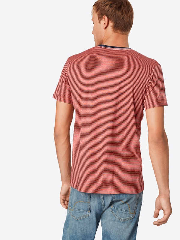 Ss' 'henl Stripe Esprit En shirt T Corail QsrdBthxoC