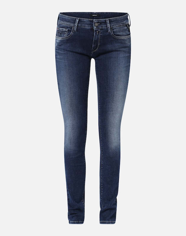 replay skinny fit jeans 39 luz pants 39 in dunkelblau about you. Black Bedroom Furniture Sets. Home Design Ideas