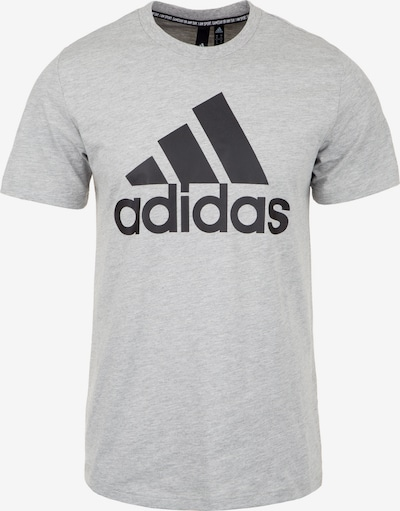 ADIDAS PERFORMANCE Shirt 'MH Bos' in graumeliert / schwarz, Produktansicht