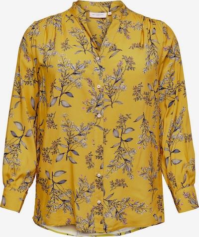 Bluză ONLY Carmakoma pe galben închis, Vizualizare produs