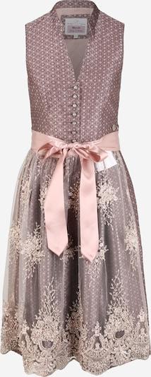 MARJO Dirndl 'Erlinda' u sivkasto ljubičasta (mauve) / prljavo roza, Pregled proizvoda
