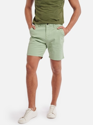 Pantaloni chino di Shiwi in verde