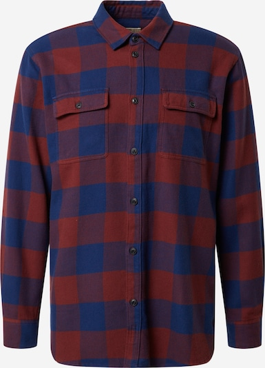 Nudie Jeans Co Shirt 'Gabriel Buffalo Check' in navy / red, Item view