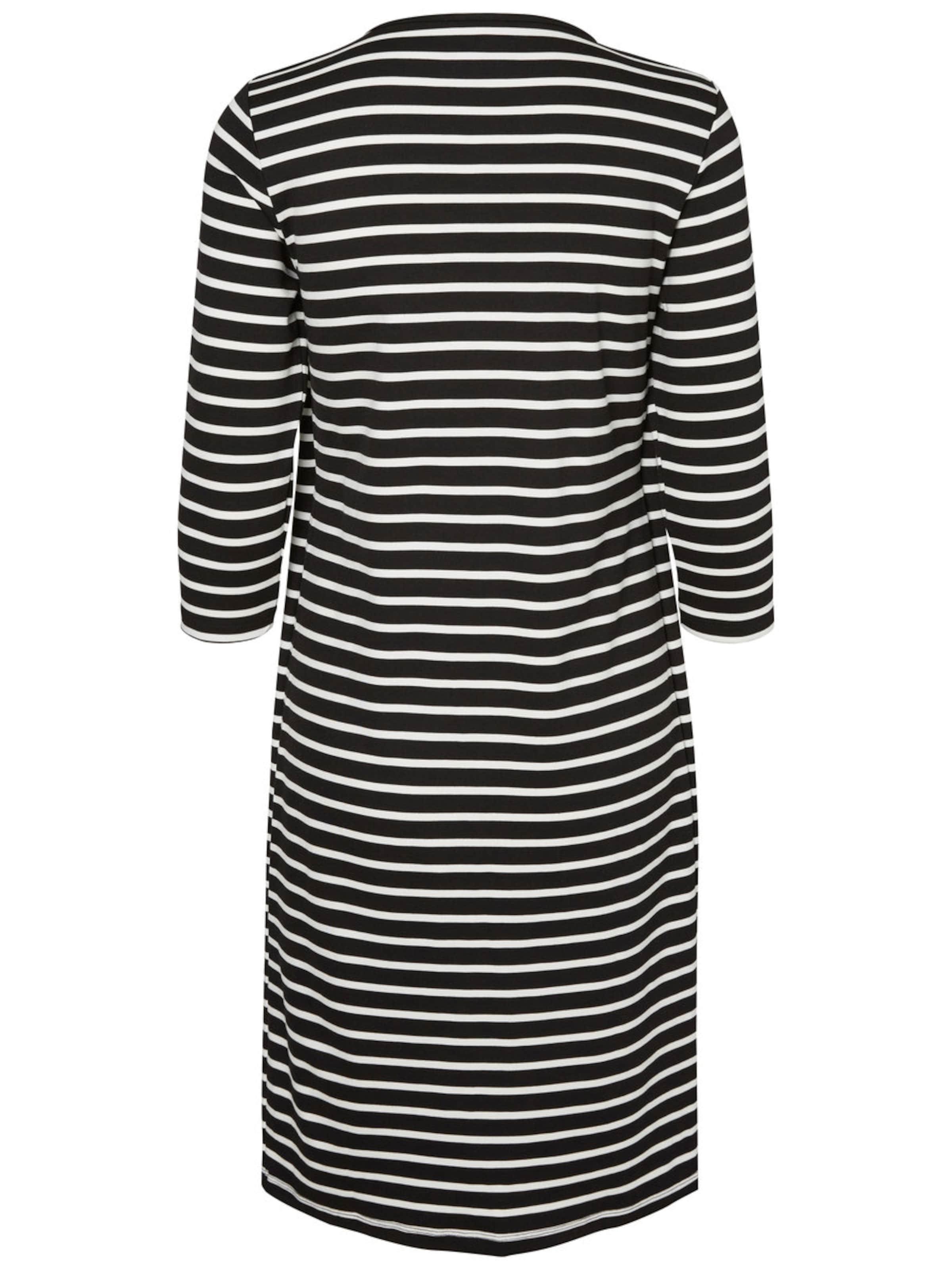 MAMALICIOUS Kleid in schwarz / weiß