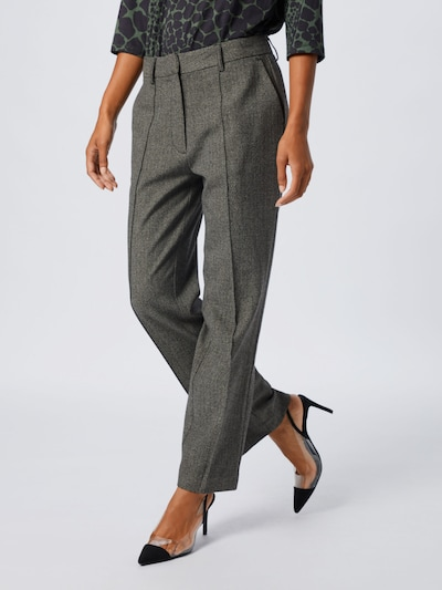 szürke Pepe Jeans Élére vasalt nadrágok 'Rosenda', Modell nézet
