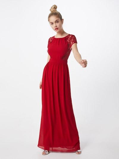 TFNC Kleid 'PEARLIE MAXI' in dunkelrot, Modelansicht