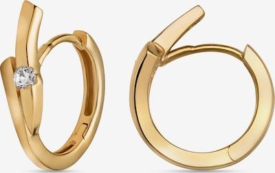 FAVS Creolen in gold, Produktansicht