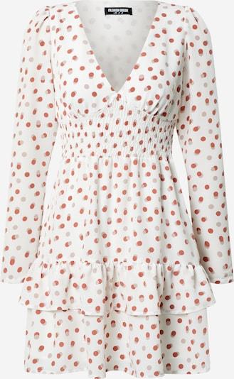 Fashion Union Kleid 'Warren' in rot / weiß, Produktansicht