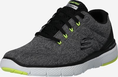 SKECHERS Sneaker 'FLEX ADVANTAGE 3.0 STALLY' in dunkelgrau / schwarz / weiß, Produktansicht