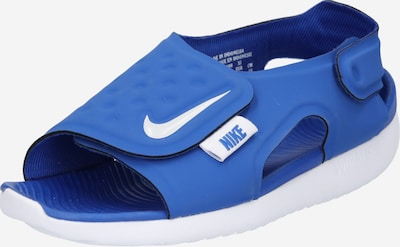 NIKE Sandale 'Sunray Adjust 5' in blau / weiß, Produktansicht