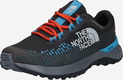 THE NORTH FACE Polobotky - pastelová modrá / světlemodrá / oranžově červená / černý melír / bílá, Produkt