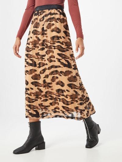 SAINT TROPEZ Jupe 'BelindaSZ Skirt Below Knee' en marron: Vue de face