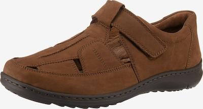 WALDLÄUFER Herwig Komfort-Sandalen in braun, Produktansicht