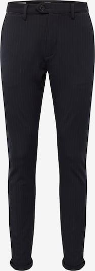 JACK & JONES Pantalon chino 'JJIMARCO JJCONNOR AKM 769 NAVY PIN NOOS' en bleu marine: Vue de face