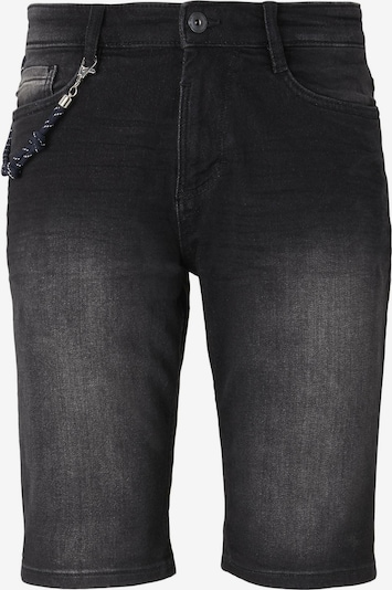 TOM TAILOR Shorts in black denim, Produktansicht