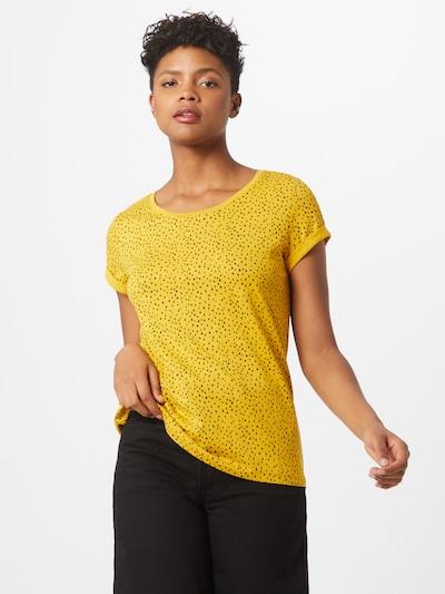 EDC BY ESPRIT T-Shirt in gelb / schwarz: Frontalansicht