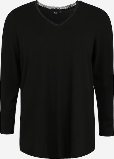 Zizzi Blouse in de kleur Zwart, Productweergave