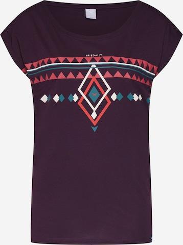 Iriedaily T-Shirt 'Hopi' in Lila