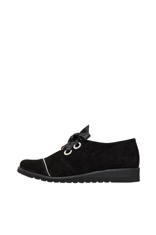 En Chaussure À Lacets Risa Noir Argent B67AwH
