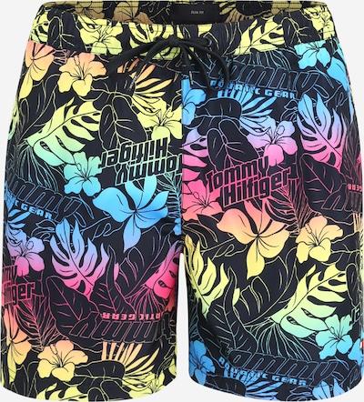 Tommy Hilfiger Underwear Badeshorts in blau / gelb / pink / schwarz, Produktansicht