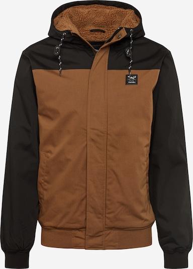 Iriedaily Zimska jakna | rjava / črna barva, Prikaz izdelka
