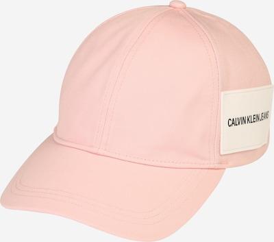 Calvin Klein Jeans Czapka z daszkiem w kolorze różowy pudrowym, Podgląd produktu