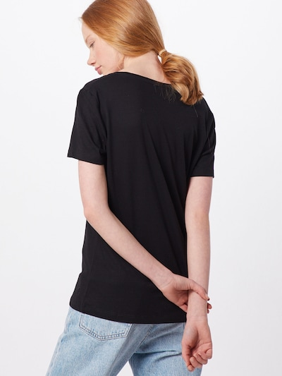 Cream Majica 'Naia' | črna barva: Pogled od zadnje strani