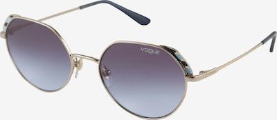 VOGUE Eyewear Lunettes de soleil en turquoise / or / bleu violet: Vue de face