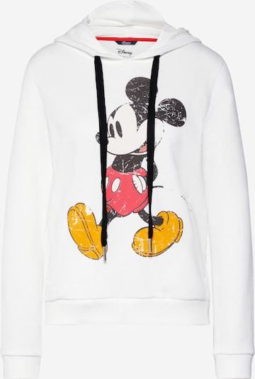 PRINCESS GOES HOLLYWOOD Sweat-shirt 'Disney mickey classic' en blanc, Vue avec produit