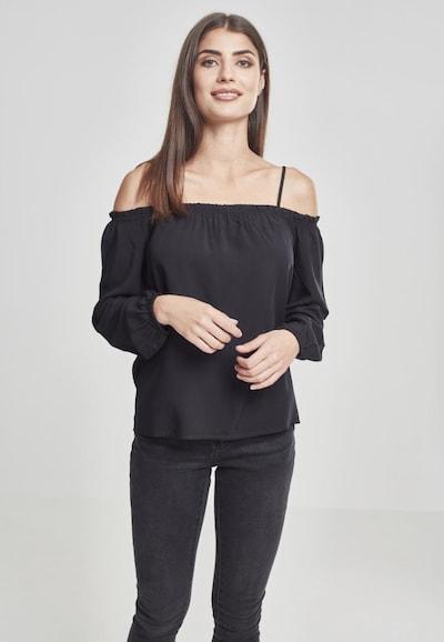 Urban Classics Longsleeve in schwarz, Modelansicht