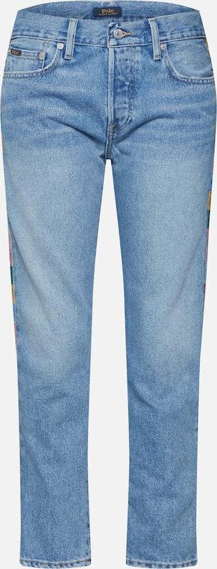POLO RALPH LAUREN Jeans 'AVERY' in blue denim, Produktansicht