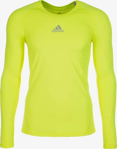 ADIDAS PERFORMANCE Functioneel shirt in de kleur Geel, Productweergave