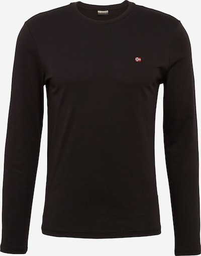 NAPAPIJRI Tričko 'Senos LS' - červená / černá, Produkt