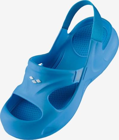 ARENA Badeschuhe 'SOFTY GRIP' in blau, Produktansicht