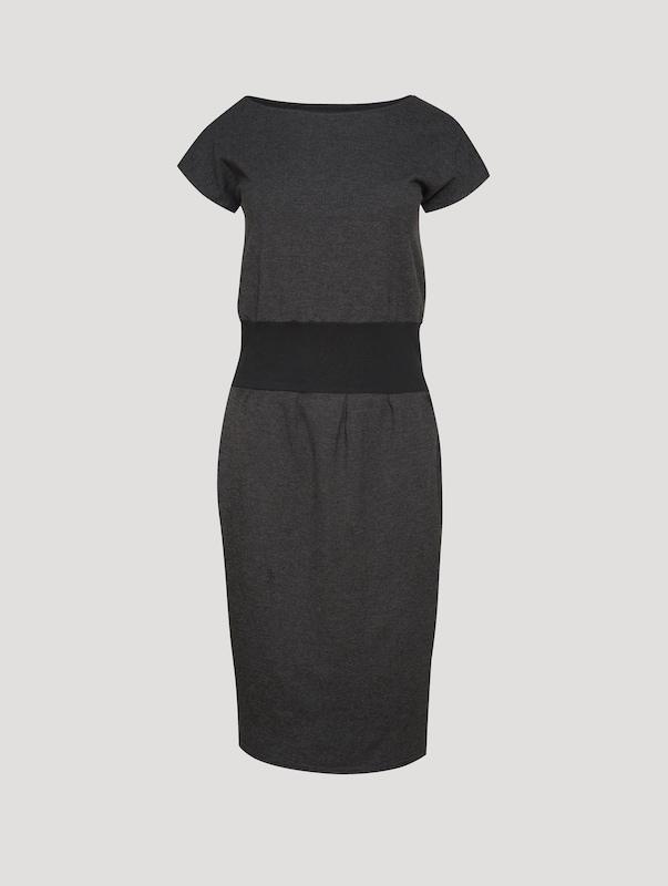 Usha Jerseykleid Jerseykleid Jerseykleid in graumeliert  Neuer Aktionsrabatt d2ded9