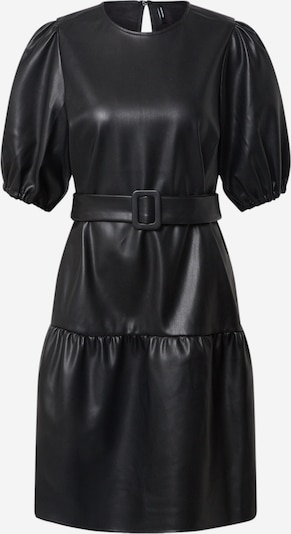 Vero Moda Tall Kleid 'VMSERENA COATED BELT 2/4 DRESS EXP TALL' in schwarz, Produktansicht