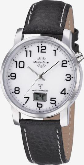Master Time Uhr 'MTGA-10294-12L' in schwarz / silber / weiß, Produktansicht